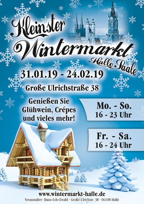 Halles kleinster Wintermarkt