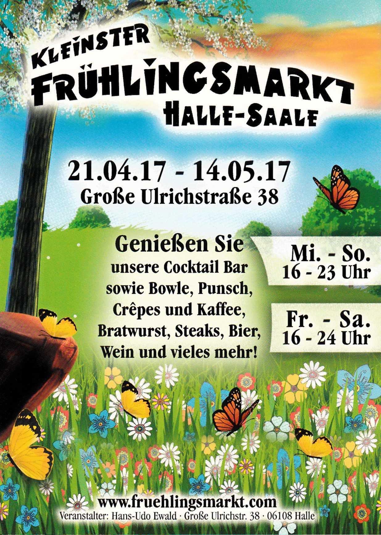 Halles kleinster Oster- und Frühlingsmarkt 2016
