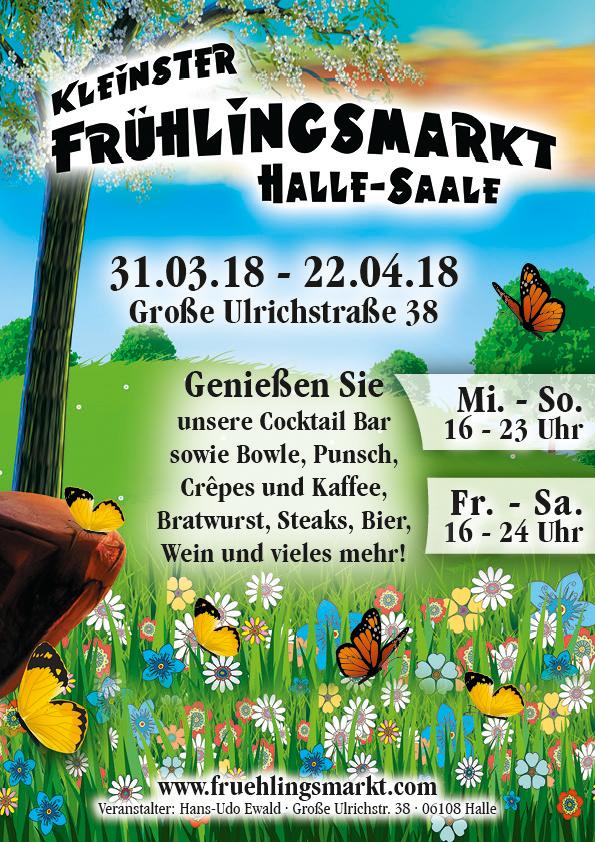 Halles kleinster Oster- und Frühlingsmarkt 2018